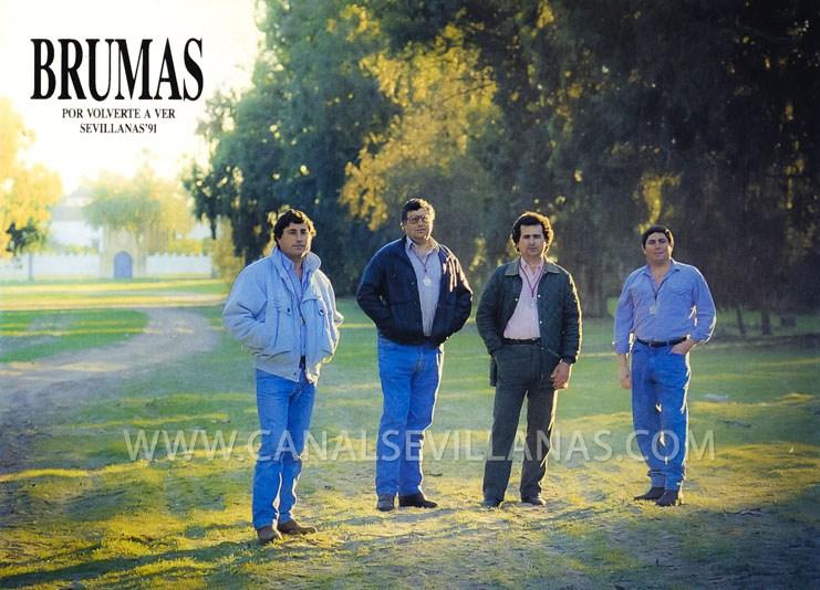 El grupo Brumas a principios de los noventa
